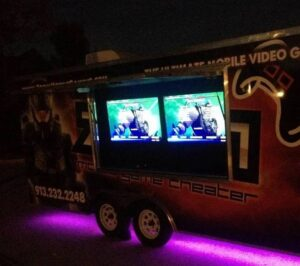 Video game truck birthday party in Kansas City