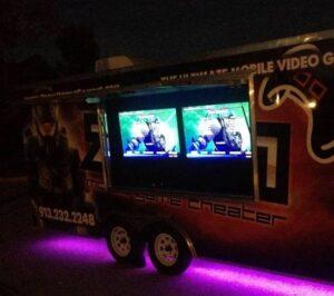 Kansas City video game truck game bus