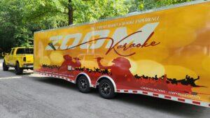 Karaoke trailer party in Kansas City