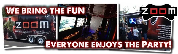 Video game truck game bus party in Kansas City