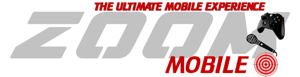 Zoom Mobile Gaming video game truck, laser tag and karaoke party in Kansas City
