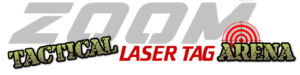 Zoom tactical laser tag arena play place in Kansas City